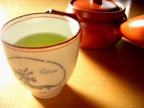 mornig green tea