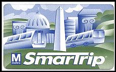 SmarTrip card, WMATA