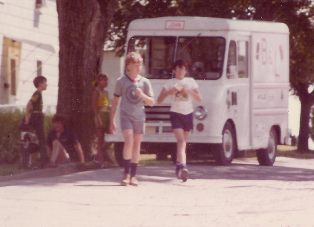 Ice Cream Man--Summer 1976 |