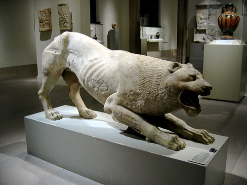 greece - lion