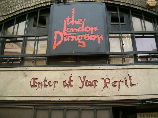 The London Dungeons by flickr user Oscar del Rio