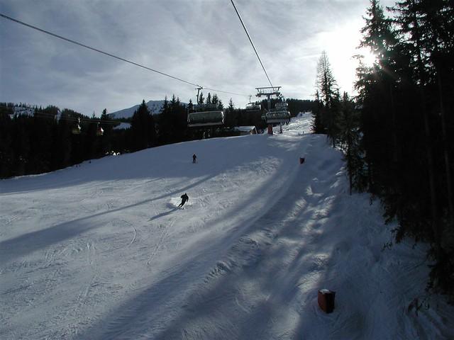 skiing...