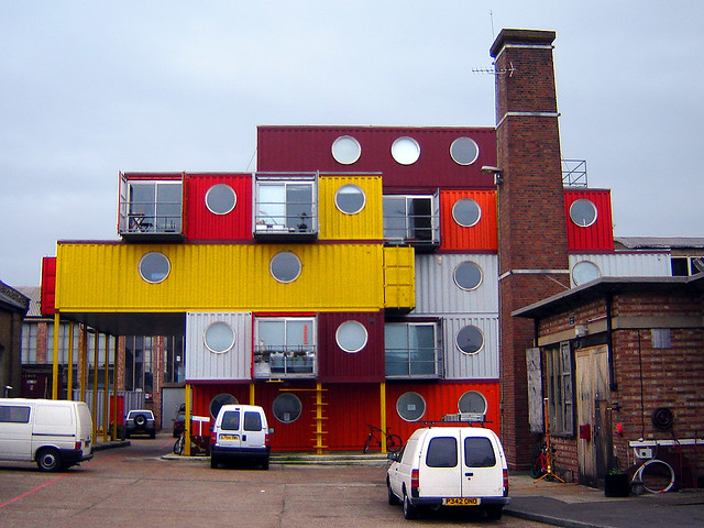 Container City 2, Leamouth, London