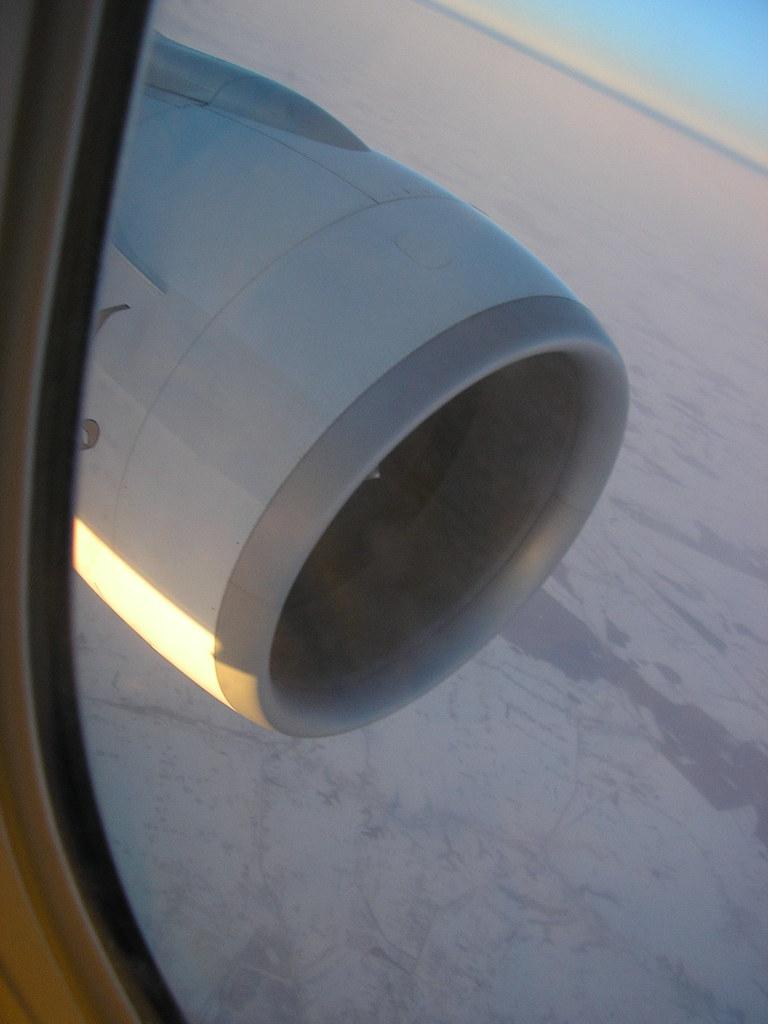 Engine & snowfields