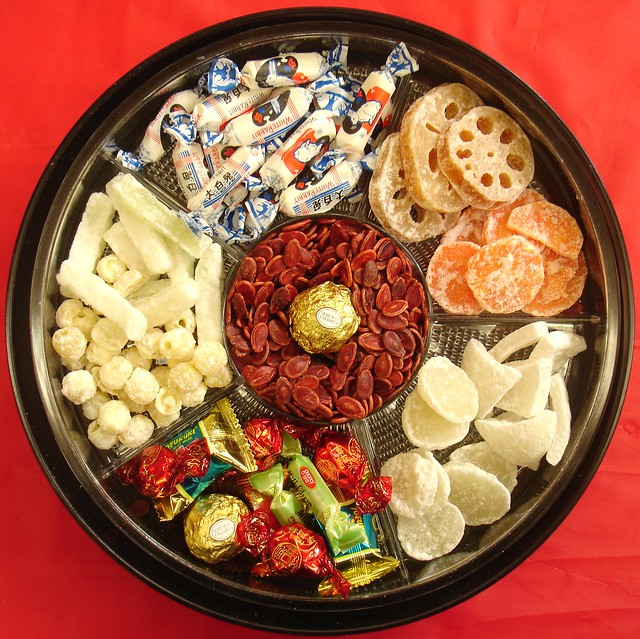 chinese new year candy tray - Chinese New Year Traditions