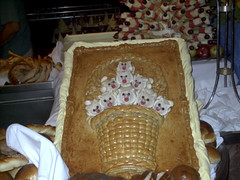 gingerbread house, meal, baked goods, food, dish,