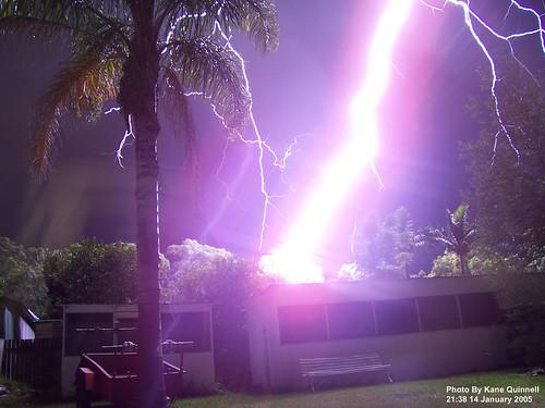 Lightning strike by flashman
