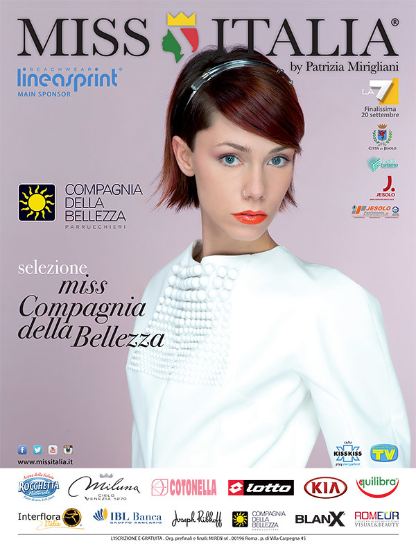 Miss Italia 2015 sceglie lo stile di Compagnia della Bellezza