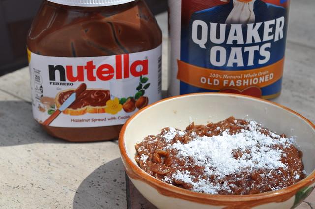 "Nutella Oatmeal ""Risotto"""