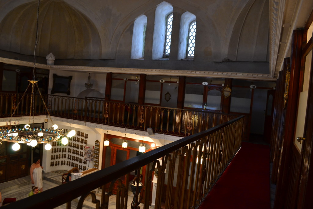 Hamam 內部大廳空間