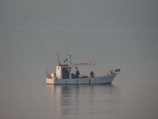 Und rechts da braust das Meer so wild, wie je gebraust es hat, Ich sehe ein kleines Fischerboot im Lido di Jesolo 1883