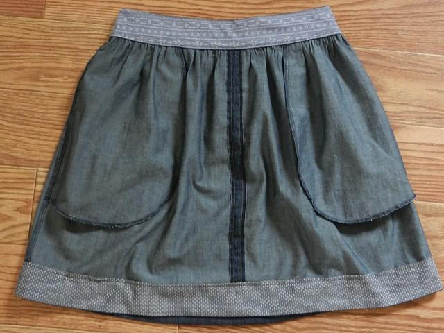 Brumby Skirt inside