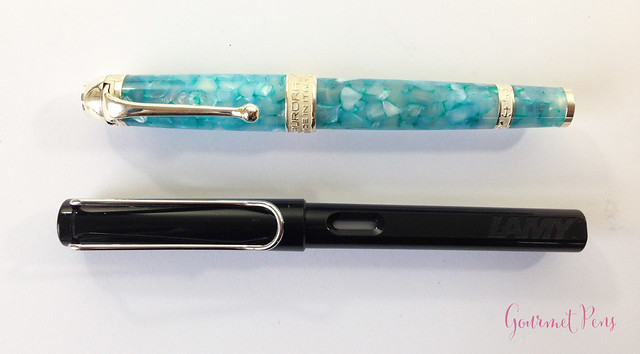 Review Aurora Mar Adriatico Fountain Pen @couronneducomte (5)