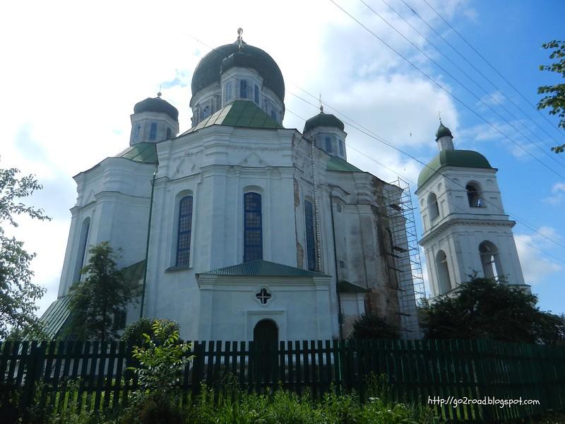 Успенский собор. Новгород-Сиверский.