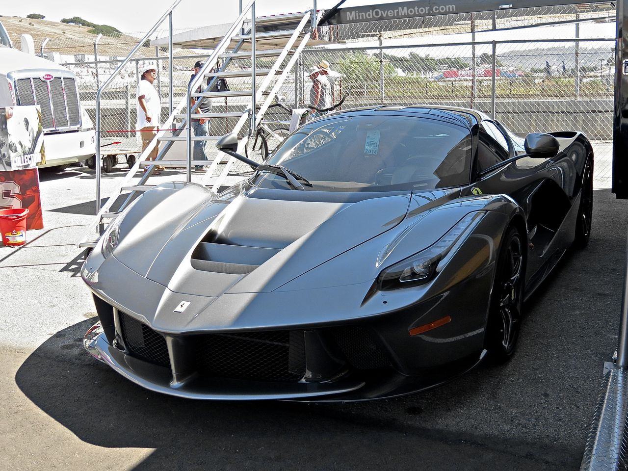 LaFerrari at Laguna Seca 1