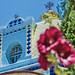 Azul y flores por Blas Torillo
