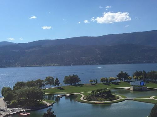 View from Delta Grand Okanagan Resort