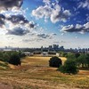 Greenwich looking over the city #follow #instadaily #instalike #photo #instagramhub #bestoftheday #instagood #photo #picoftheday #russellmarsh #instamood #follow #colourful #leisure #ink361 #greenwich