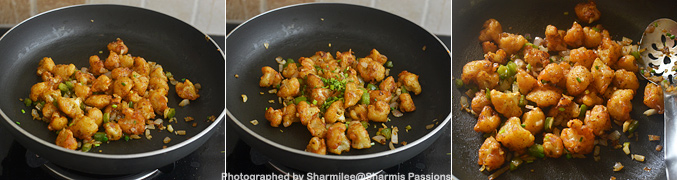 How to make Gobi manchurian - Step5