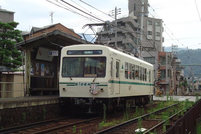 2015/07 叡山電車×わかばガール ヘッドマーク車両 #13