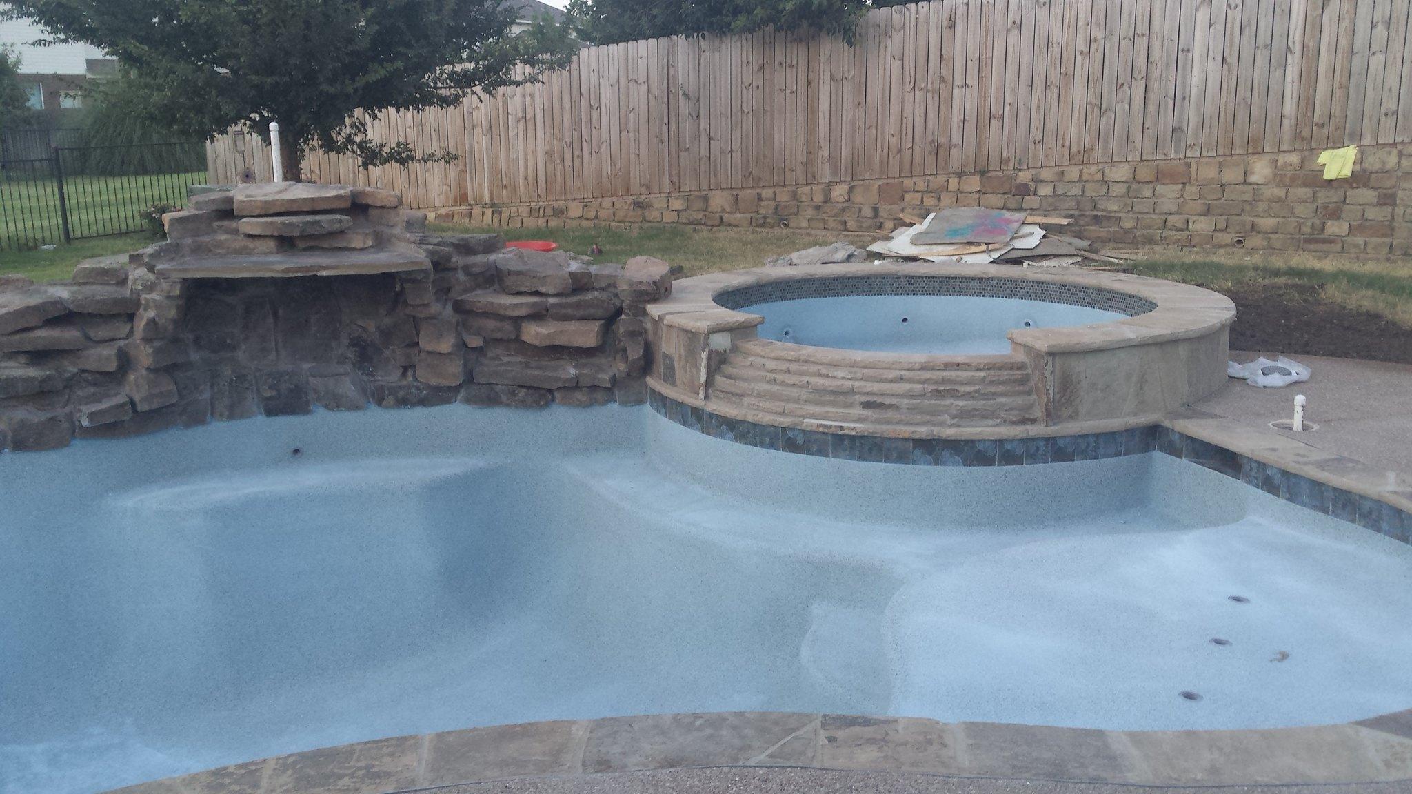 Acid Wash Gunite Pool : Fort worth tx ig gunite build page