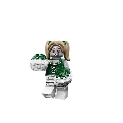 Minifigures serie 14 - Zombie Cheerleader