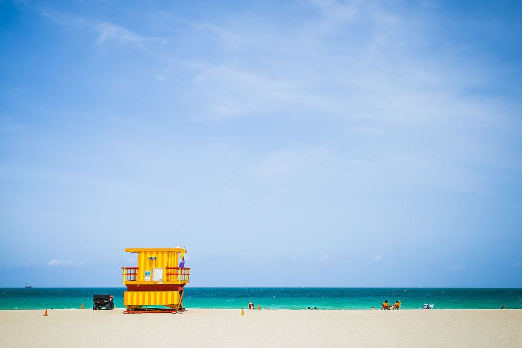20150805_F0001: South Beach lifeguard's hut