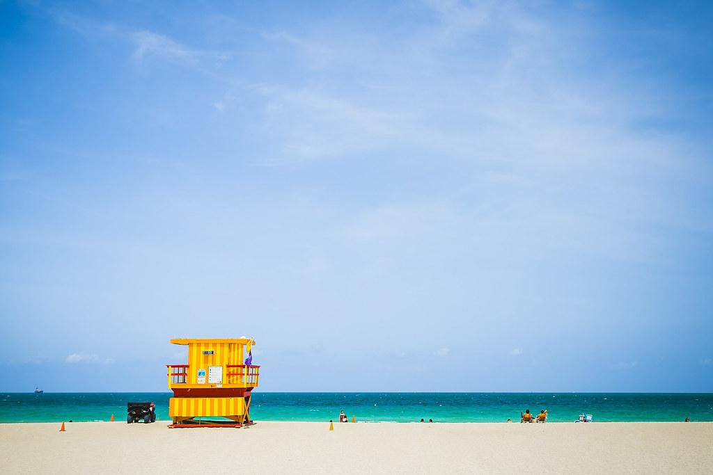 20150805_F0001: South Beach lifeguard's hut