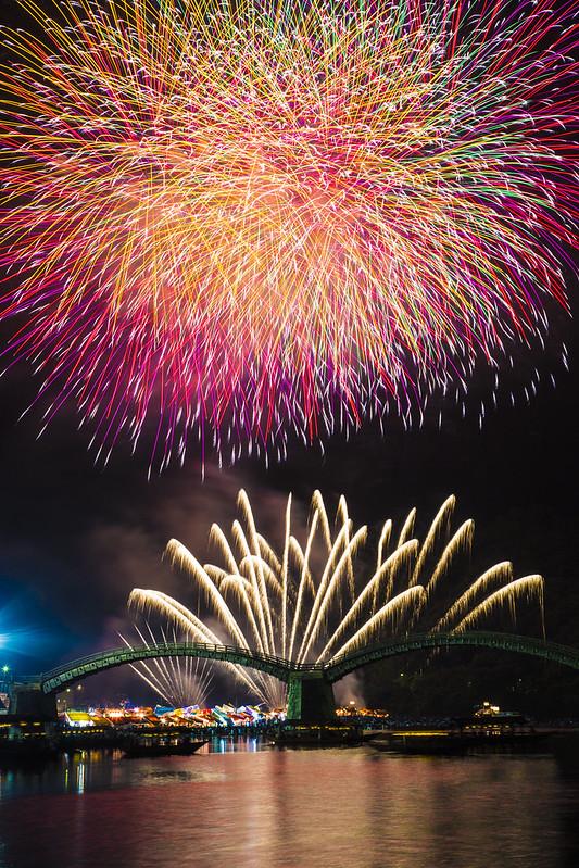 錦帯橋花火大会20150808_78