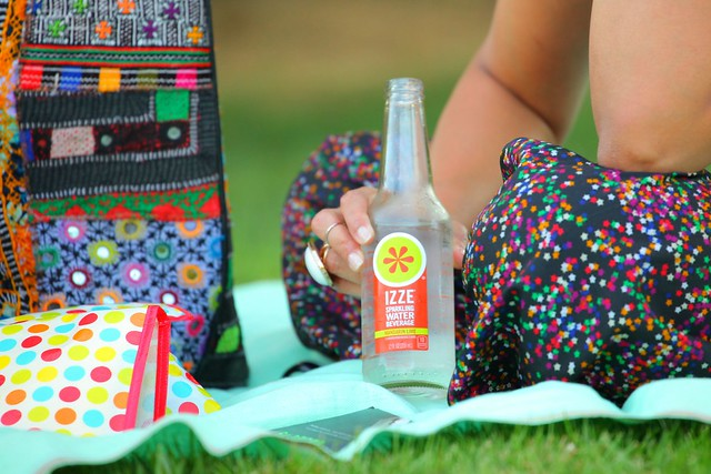 What To Pack, Picnic Accompaniment, IZZE Sparkling Water, Tanvii.com