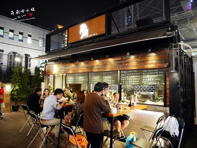 台北一日遊推薦COMMUNE A7信義區貨櫃市集攤位吃喝攻略