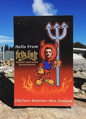 Hells Gate Geothermal Park in Rotorua