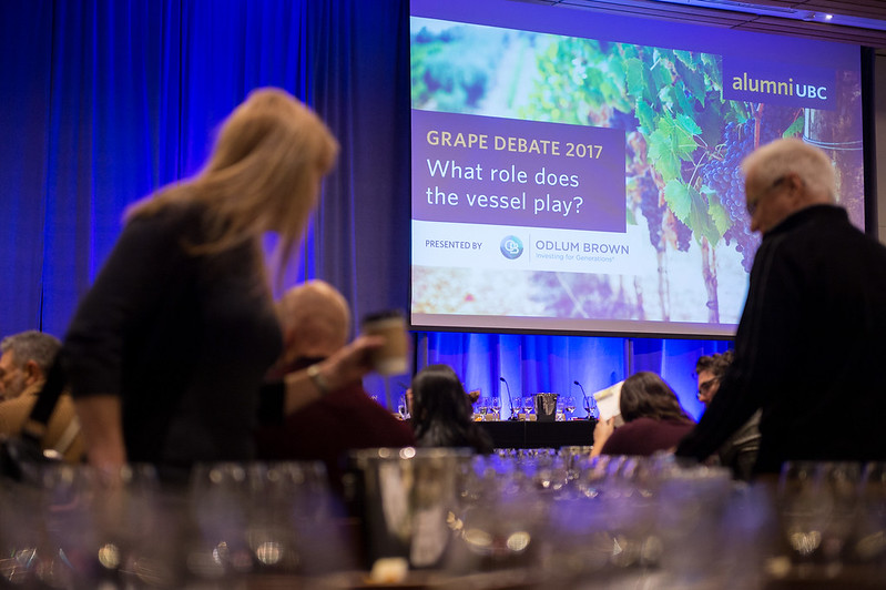 The Grape Debate 2017: Featuring the Wines of British Columbia and presented by Odlum Brown Limited