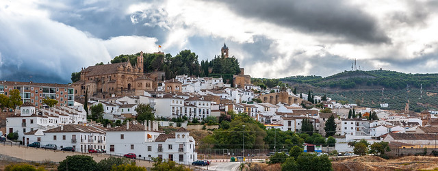 Castle on the hill, Antequera Spain