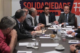 Bancada do Solidariedade faz a primeira reunião do ano