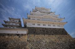 Himeji Castle: Leica M + Canon FDn 20-35/3.5L & RD-1s + Summicron 28/2 Asph. & Summicron 90/2