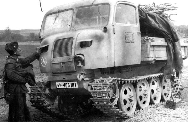 Steyr Raupenschlepper Ost RSO-01