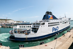 P and O ferry Dover
