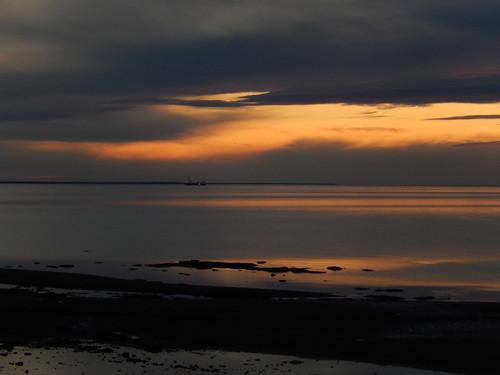 Sunset camping Pugwash