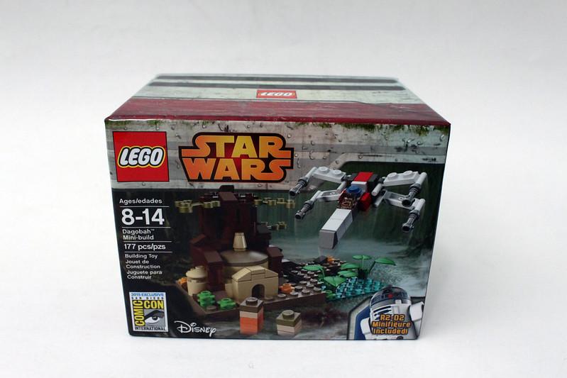 Review - LEGO Star Wars SDCC 2015 Dagobah Mini-Build από Brick Fan 19109075413_47e0447d28_c