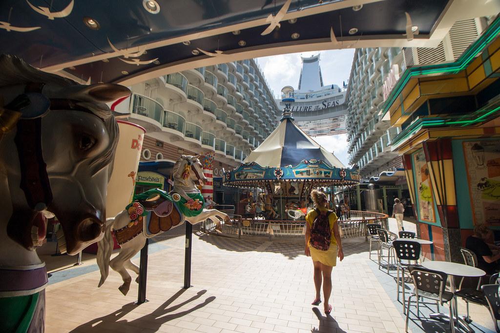 karuselli, Allure of the Seas