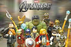 Lego Avengers Upgraded Minifigures