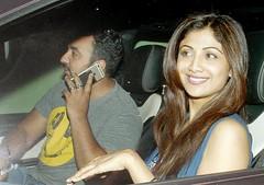 Shilpa Shetty & Raj Kundra  Hangouts Pictures
