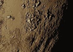 New Horizons Pluto Surface 15.07.15