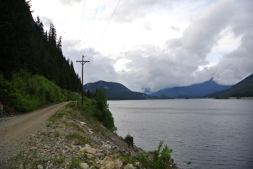Memorial Day Mini-Tour day 2 - Riding back along Keechelus Lake