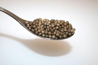 05 - Zutat Koriander-Samen / Ingredient coriander seeds