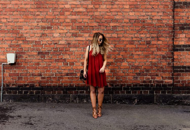 rusty-red-dress-lace-up-heels2