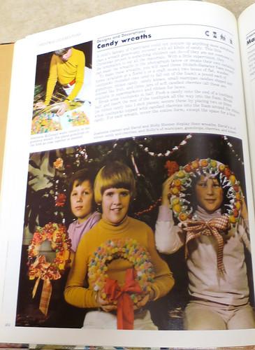 candy wreaths