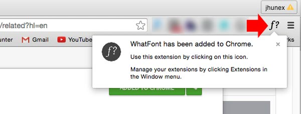 what font chrome step 3
