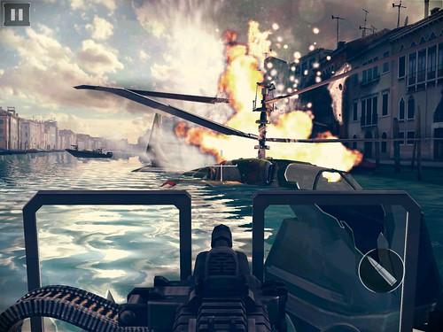เล่นเกม Modern Combat 5: Blackout บน MiPad